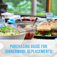 Purchasing Guide for Dinnerware Replacements