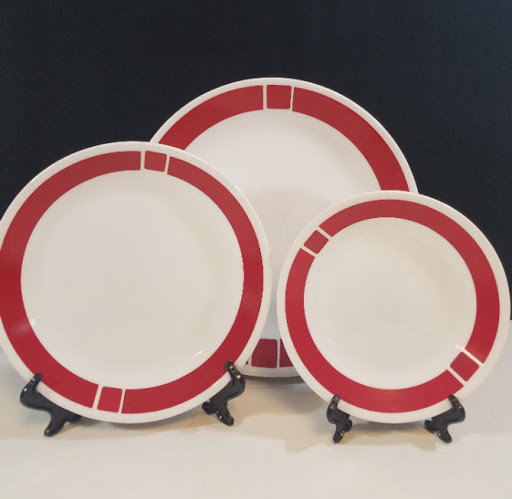 Corning Corelle Urban Red Dinner Plate : red dinner plates - pezcame.com